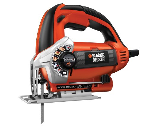 Black and Decker KS900SK-QS - Sierra de vaivén con maletín (620 W, 230 V)