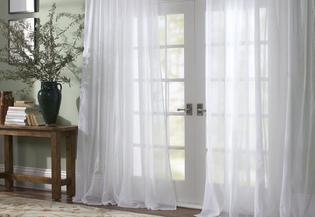 Ideas de cortinas para sal n a decorar zona herramientas - Cortinas salon ideas ...