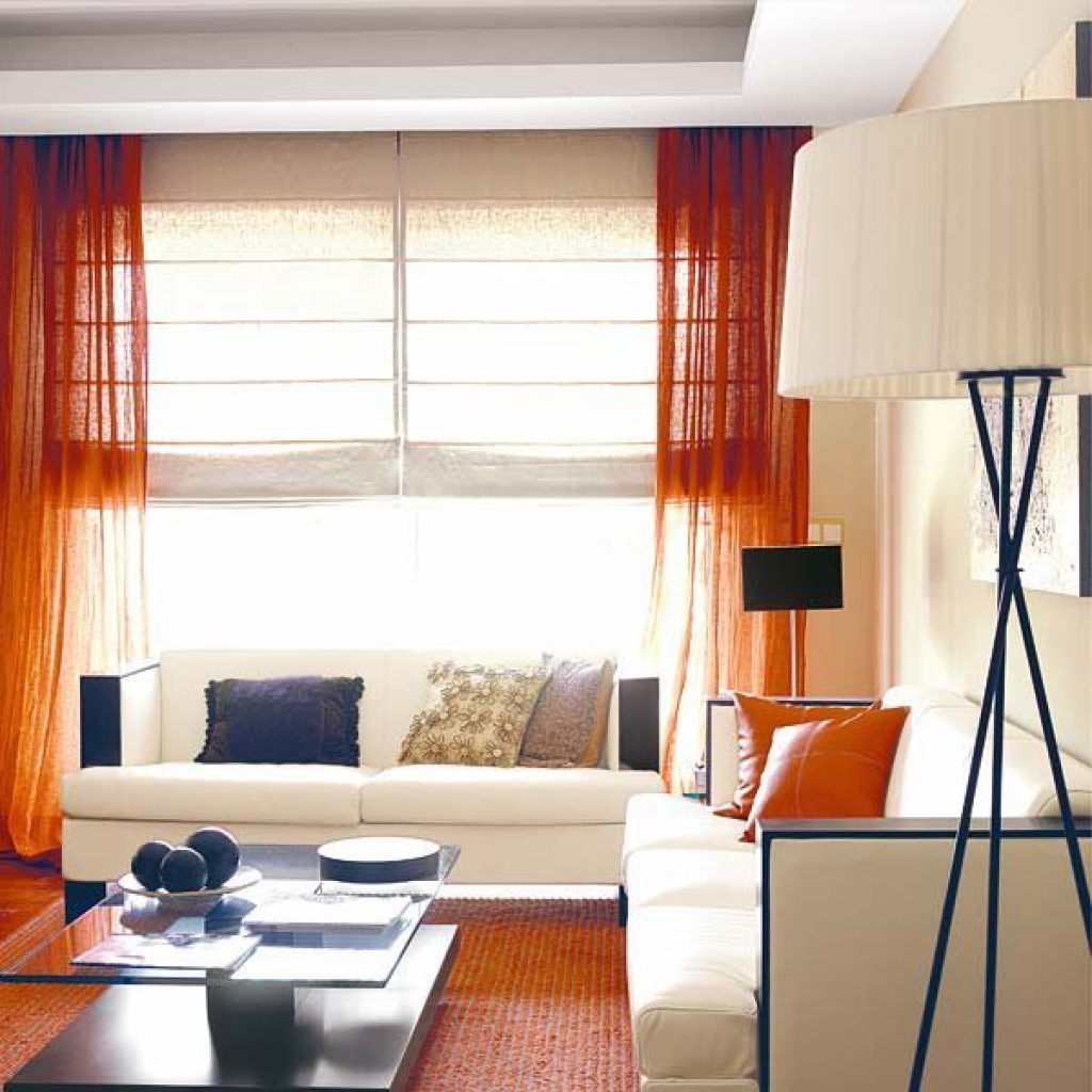 Ideas de cortinas para sal n a decorar for Cortinas y estores modernos