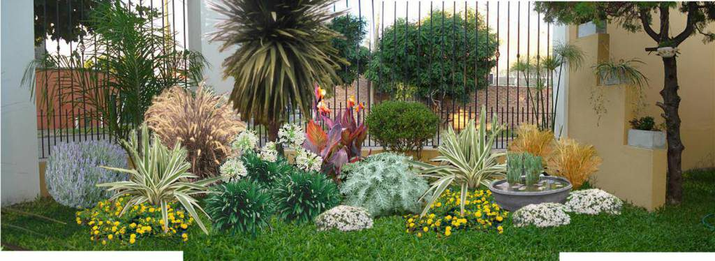 ideas para decorar un jardín