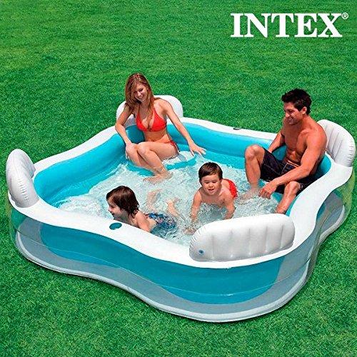 Las mejores piscinas baratas para terrazas del verano for Piscina hinchable con depuradora incluida