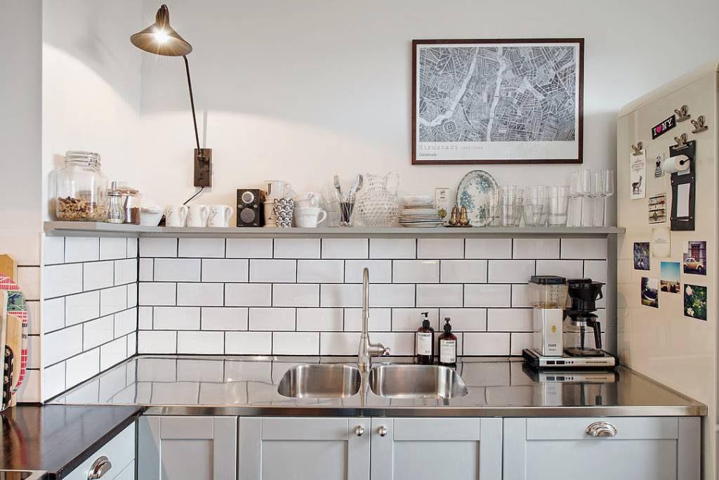 ideas para cocinas grises