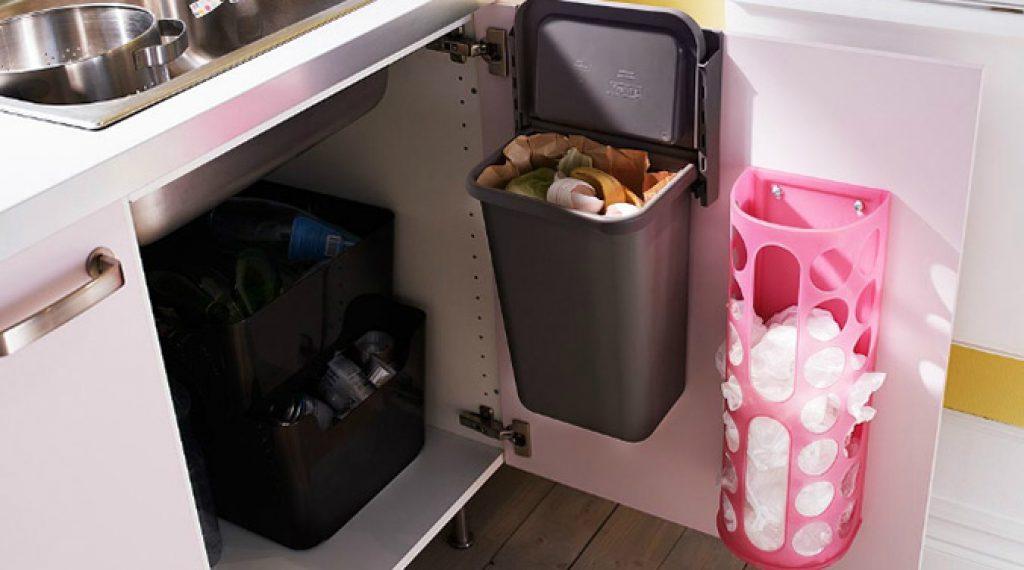 organizar tu cocina para reciclar
