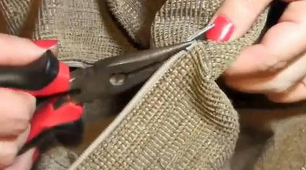 arreglar una cremallera