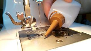 Lubricar máquina de coser