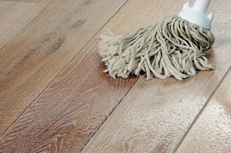 Limpiar el parquet